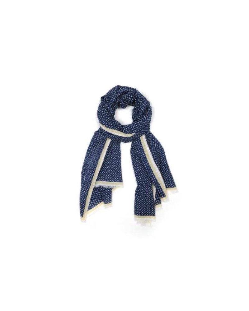 Echarpe Design No330- Ink Blue