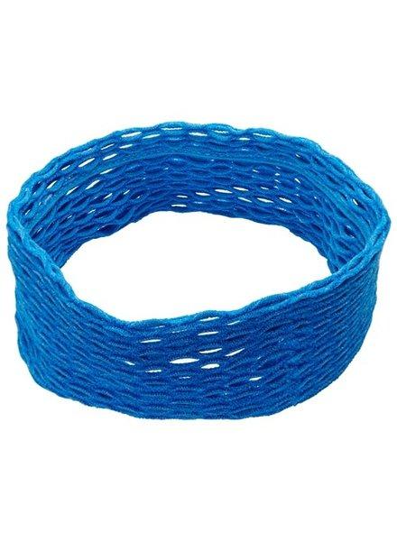 Netted Headwrap- Blue