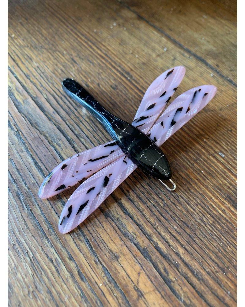 Blush Tokyo & Metallic Dragonfly Barrette