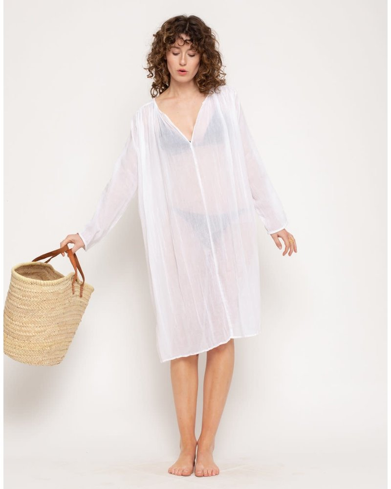 Kumbi Dress- White- One Size