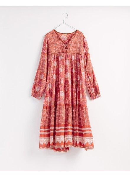 Yamini Booj Dress- Rust