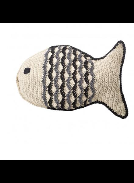 Large Crochet Fat Fish 001