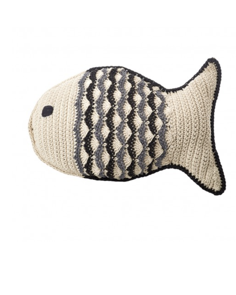 Large Crochet Fat Fish 001