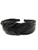 Black Metallic Headband