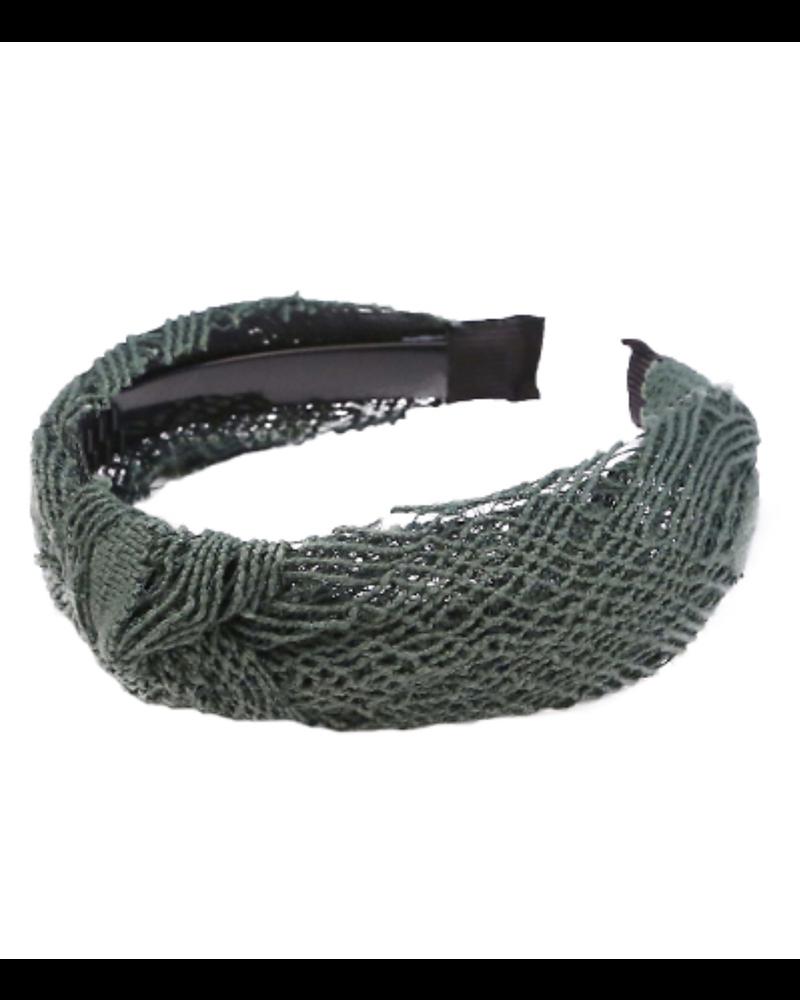Olive Crochet Headband