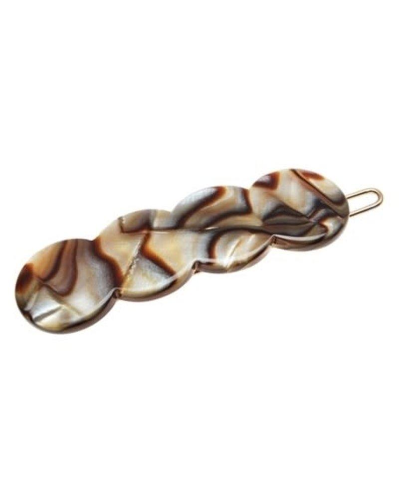 Scallop Tige Boule- Onyx