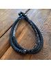 Japanese Knot Necklace- Indigo