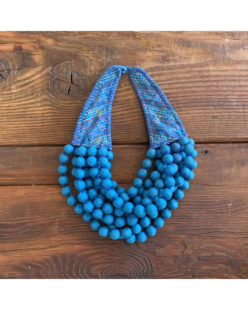 Kantha Beads- Blue