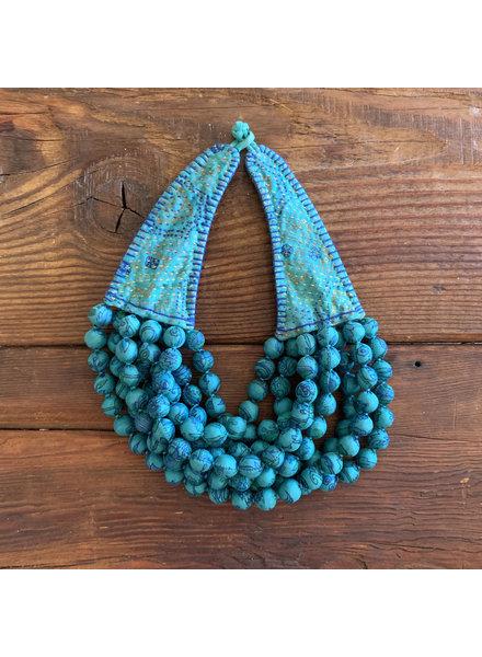 Kantha Beads- Teal