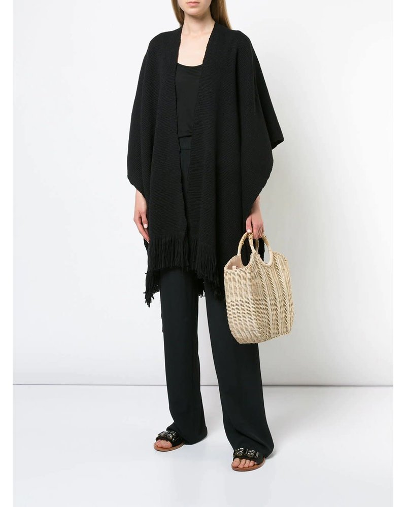 Duna Cotton Duster- Black