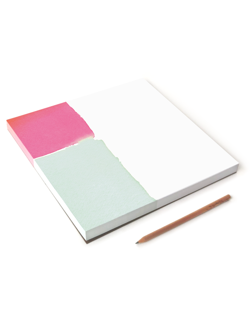 Color Block Giant Notepad