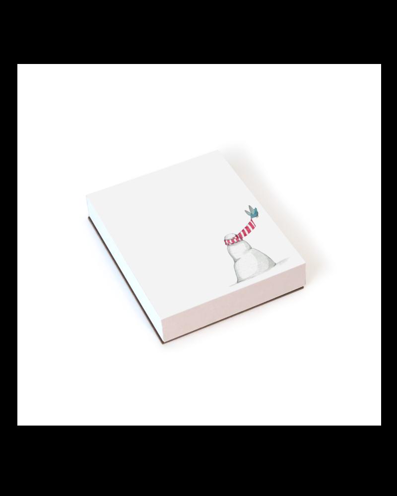 Snowman Mini Notepad