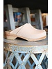 Nautral Leather Clogs