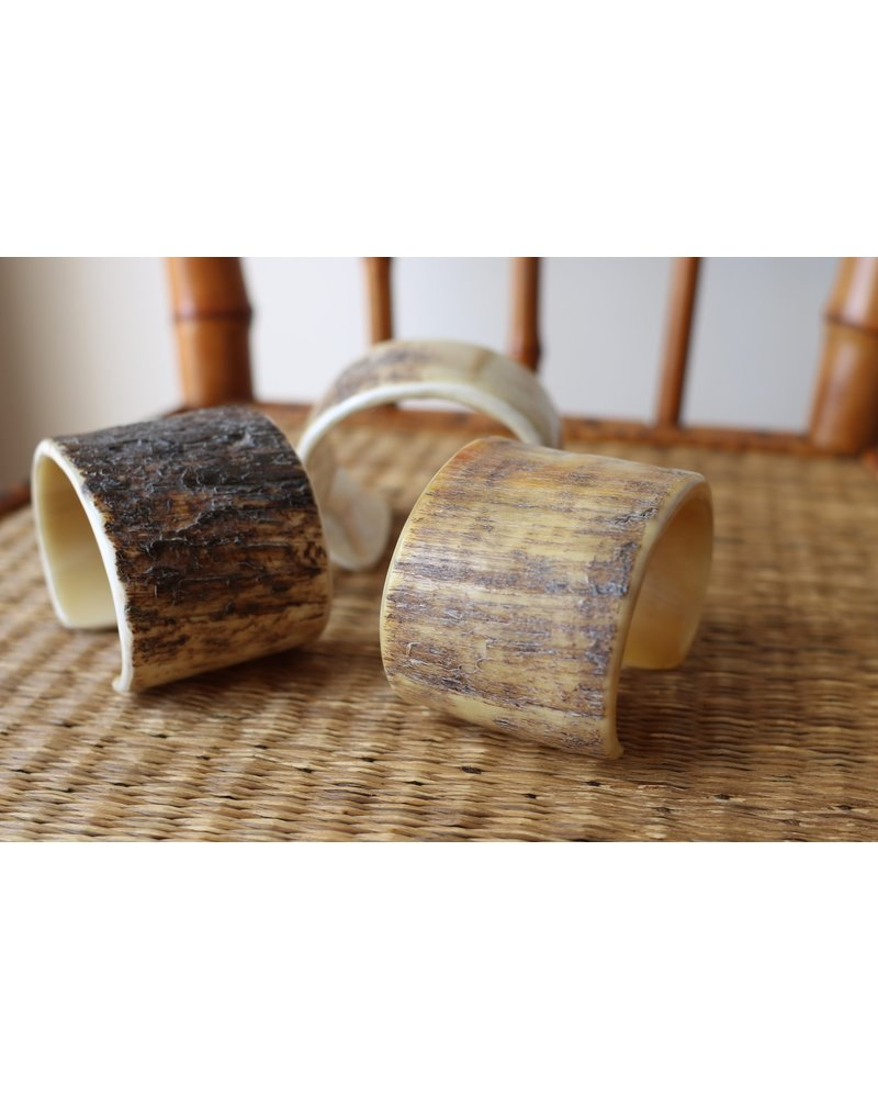 Rough Horn Flat Cuff