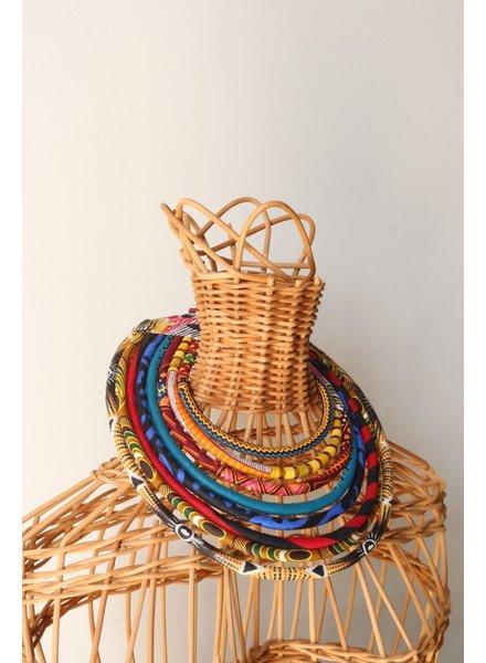 African Fabric Collar