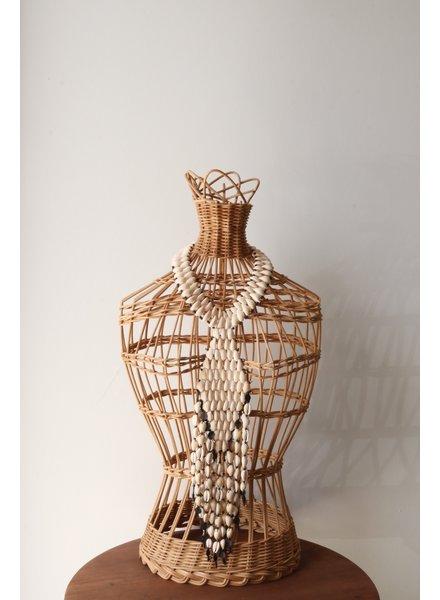 Cowry Shell Necklace- Diamond