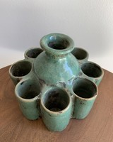 Moroccan Candle Stick Holder- Large Teal