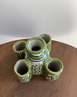 Moroccan Candle Stick Holder- Small, Lime