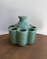 Moroccan Candle Stick Holder- Small, Teal