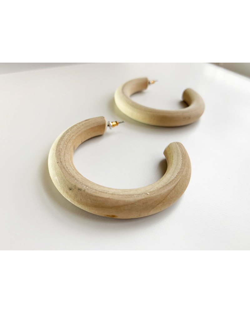 Natural Wooden Hoops