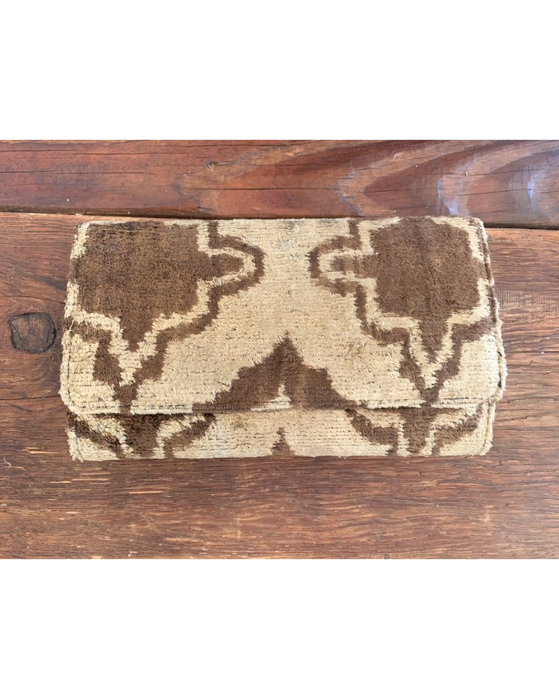 Ikat Silk Clutch #4