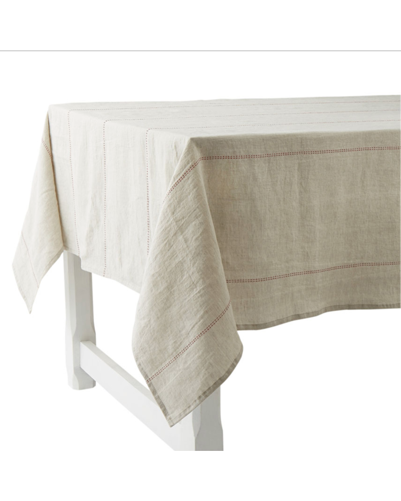 Rythmo Table Cloth Red