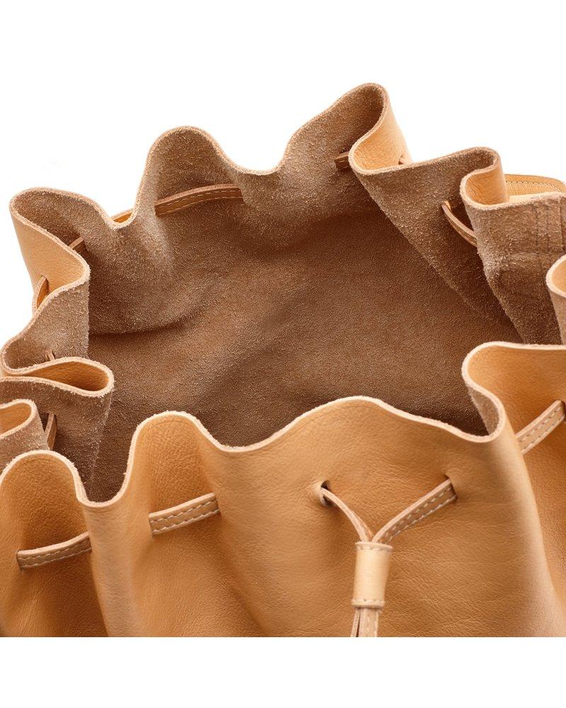Cowhide Bucket Bag- NATURAL (A2785..EP120O)