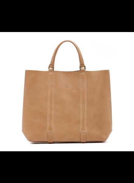Cowhide Tote Bag- Natural (A2787..P9650)