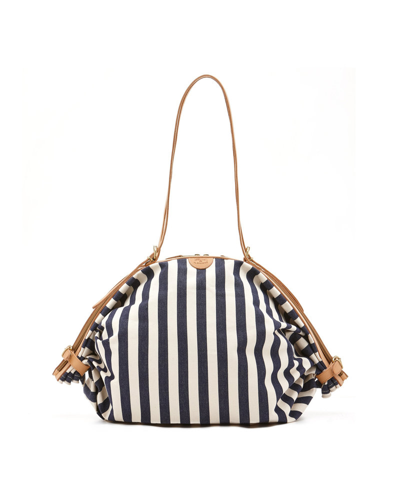 Canvas/Cowhide Bag (L0790..RIT165)