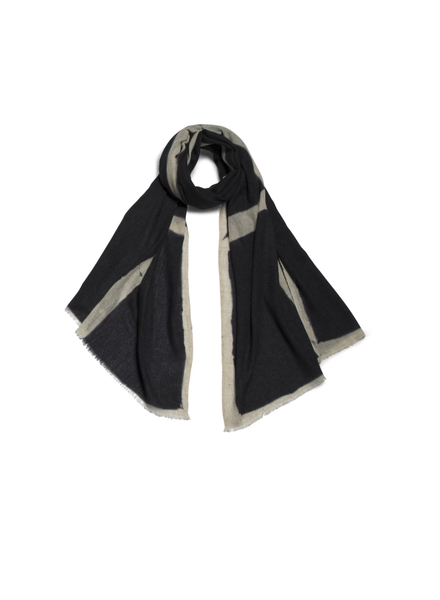 Nuance Wool Scarf- Black