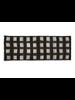 Quadrillage Wool Scarf- Khaki & Black