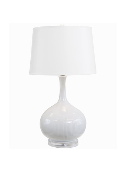 Coco French White Lamp