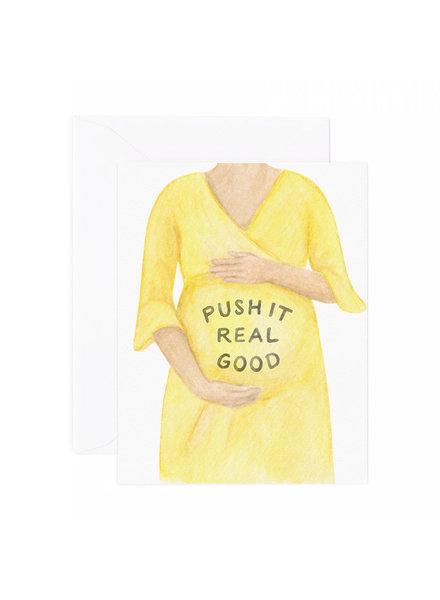 Push it Pregnancy Card
