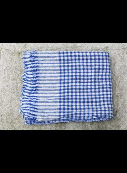 Blue Gingham Sheet