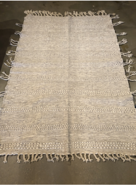Moroccan Wool- Natural-5' x 7'6""