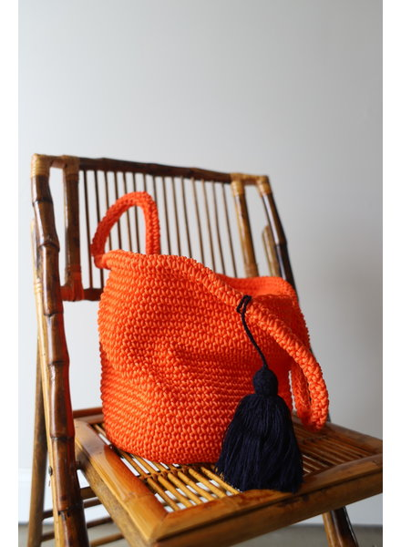 Cape Bucket Bag- Orange