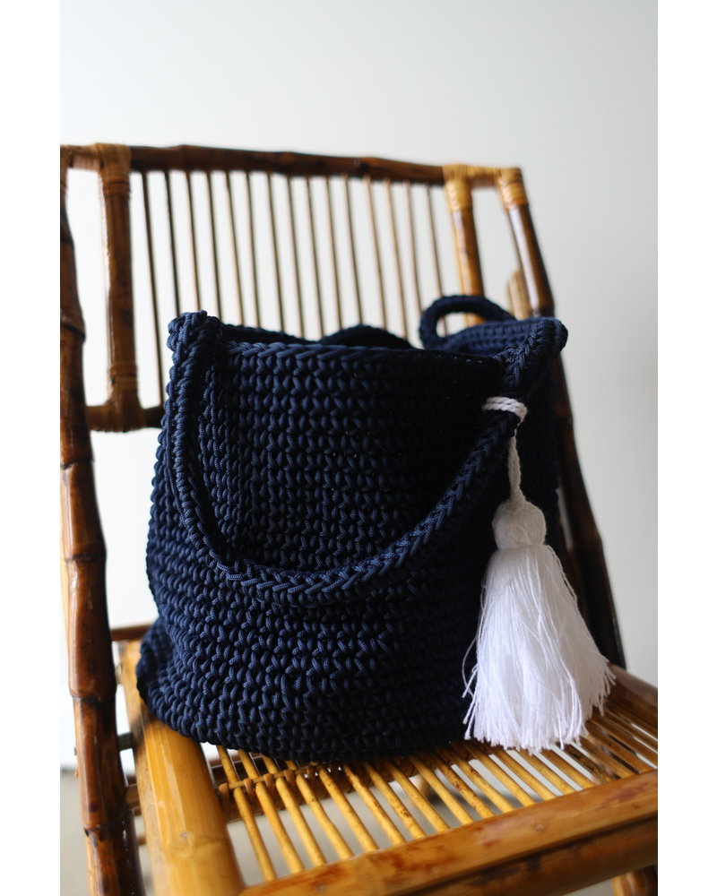 Cape Bucket Bag- Marine
