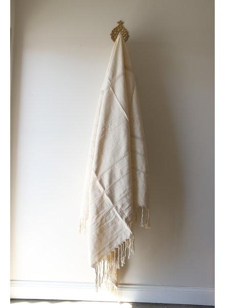 Medium Cotton Blanket #1- Open Weave