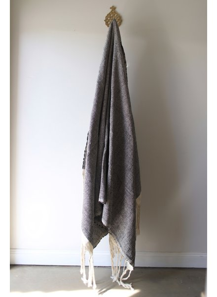 Medium Blanket #4- Night Tweed