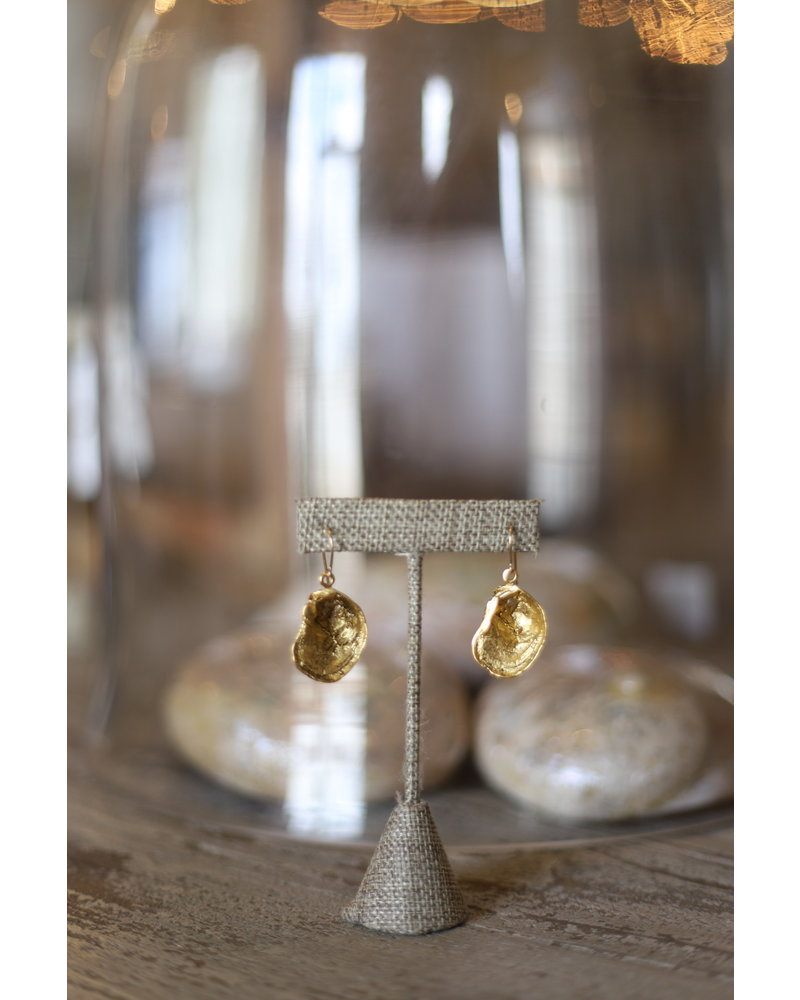 Oyster Dangle Earrings