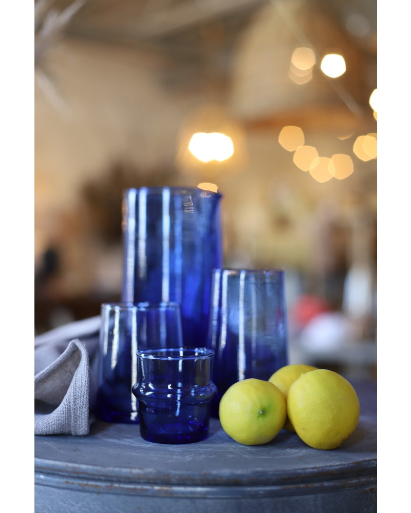 Beldi Glassware- Marine Blue