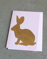 Forest Bunny Card