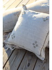 24 x 24 Cactus Silk Pillow Cover- Oyster