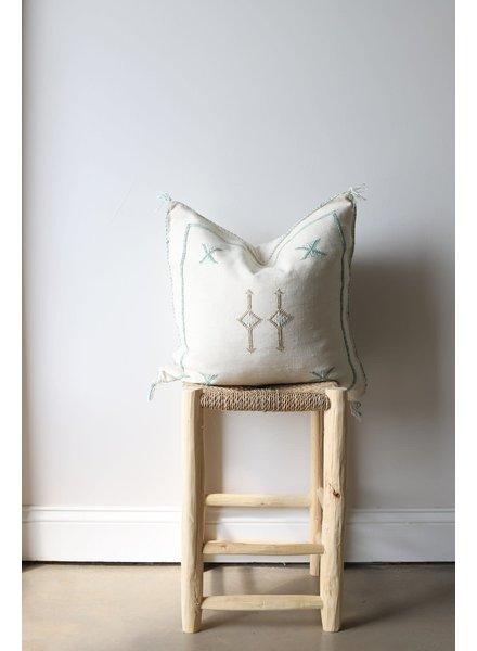 """20"""" x 20""""- Cactus Silk Pillow Cover- Linen- #10122"""