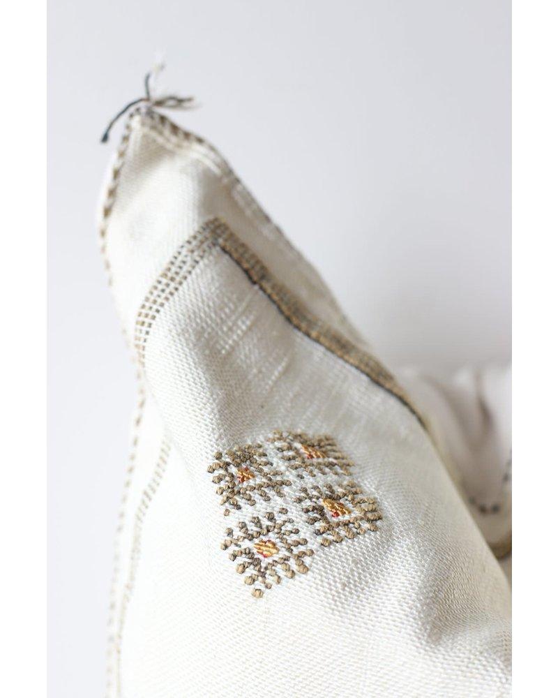 """20"""" x 20""""- Cactus Silk Pillow Cover- Linen"""