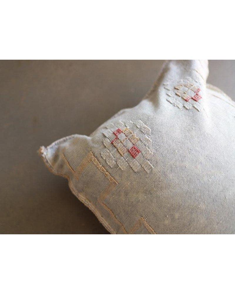 """36"""" x 18"""" Cactus Silk Lumbar- Oyster- #10110"""