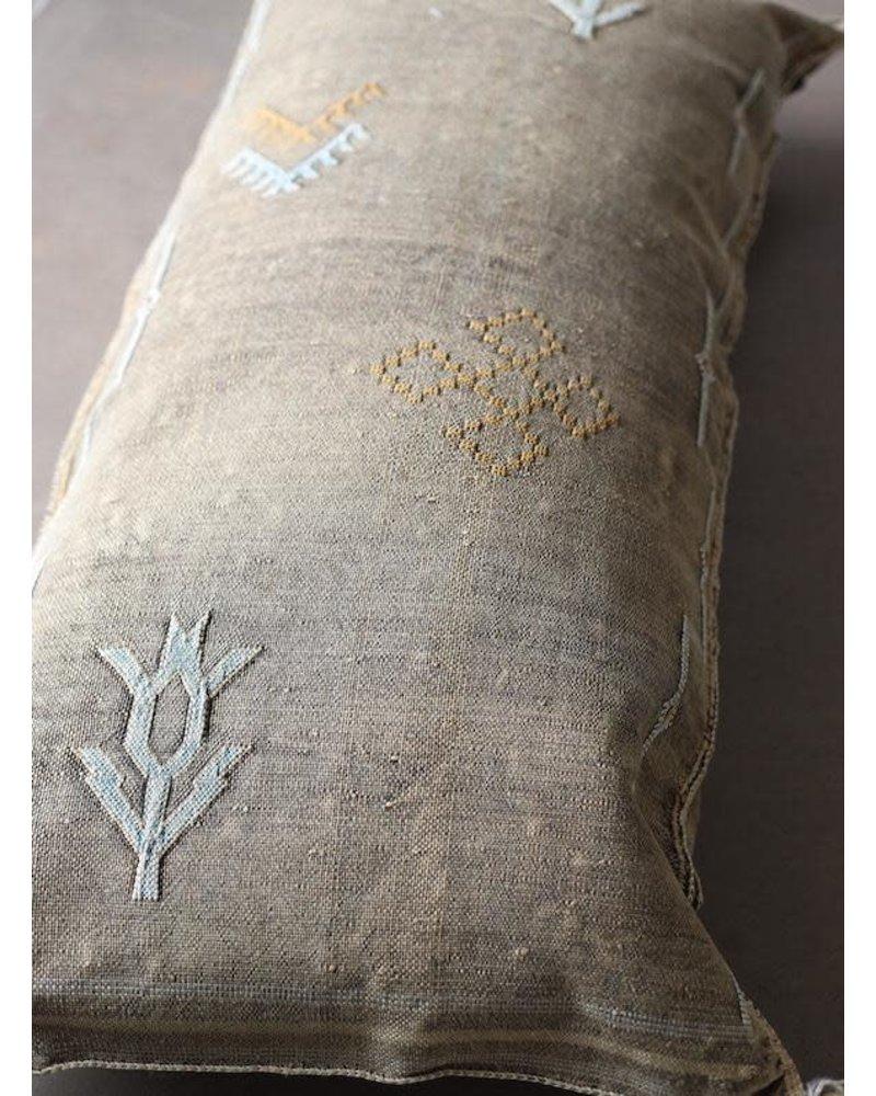 """36"""" x 18"""" Cactus Silk Lumbar- One of a Kind #10106"""
