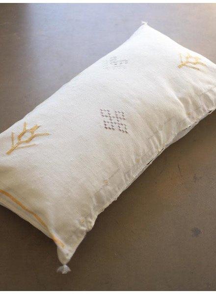 """Cactus Silk 36"""" x 18"""" Cactus Silk Lumbar - Linen #10101"""