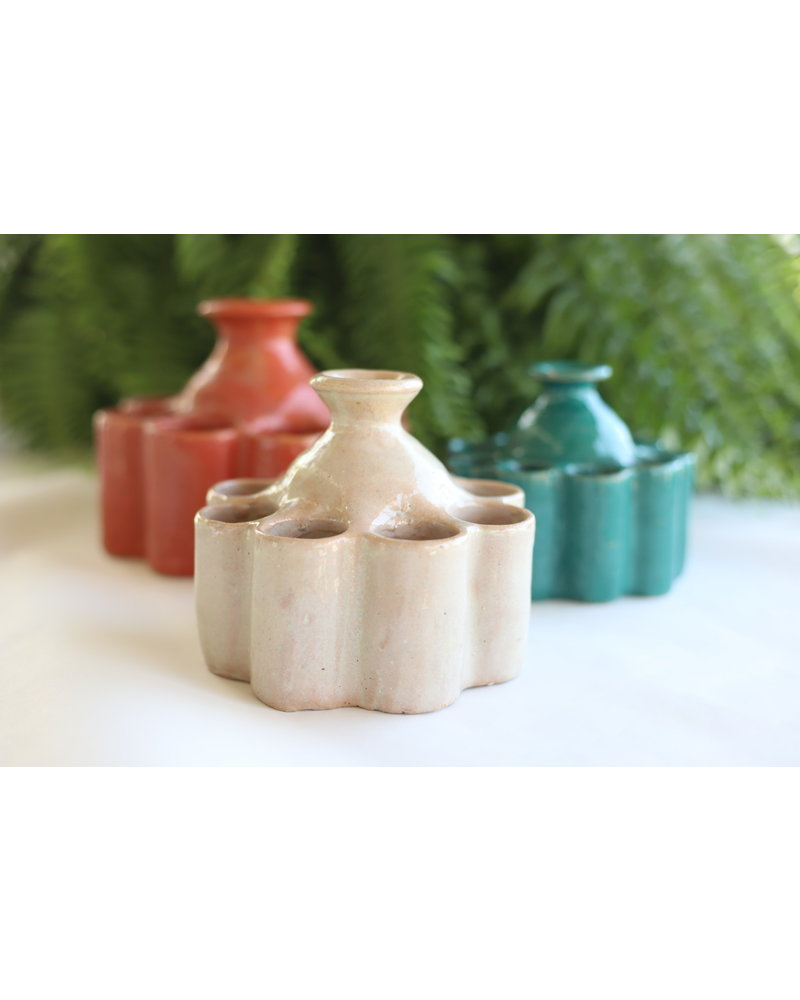 Moroccan Inkwell- Small, Round- Pastel