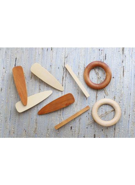 Wood Hair Pin